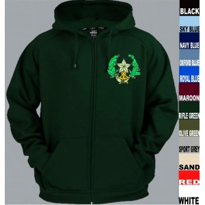 Cameronians Full Zip Hoody