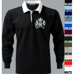 SIS MI6 James Bond Rugby Shirt