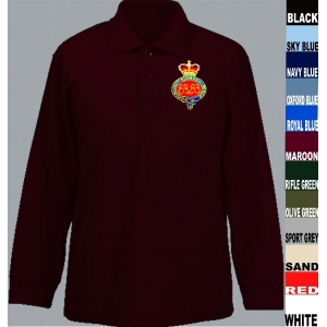Grenadier Guards Long sleeve Polo Shirt