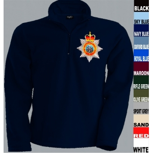 Devonshire Regiment 1/4 Zip Fleece