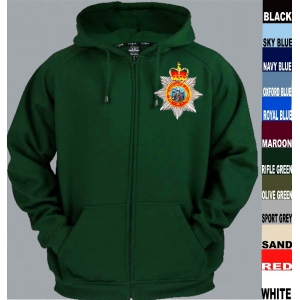 Devonshire Regiment Full Zip Hoody