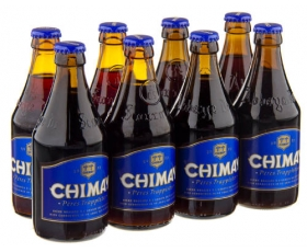 CHIMAY  Trappist blauw - 8 x 33 cl.