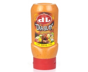 DEVOS LEMMENS  Diablo saus Top Down - 300 ml.