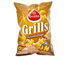 SMITHS  Grills gerookt, smoked - 125 gr.