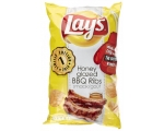 LAYS - LAY'S  chips Honey Glazed BBQ Ribs ** Lim..