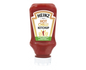 HEINZ ketchup Hot Chilli Top Down - 400 ml