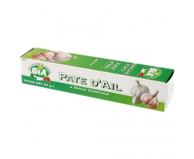 Gia Garlic Paste, pasta, Knoflook, Olie in tube, Plantaardig - netto 90 gr.