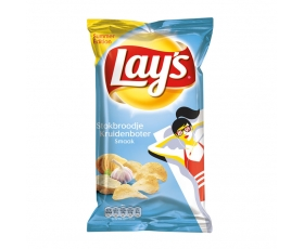 Lay's chips Summer edition stokbroodje kruidenboter - 120 gr.