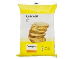 EVERYDAY  gezouten, salted crackers-  3 x 100 gr.