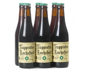 ROCHEFORT  '8' trappist  9,2 % vol - 6x33 cl.