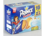 LU  PRINCE Pocket vanillesmaak 2x10 - 400 gr.