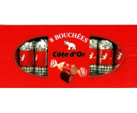 Bouchees 8 pieces - 1 box - Perfect gift, Cote d'or bouchee
