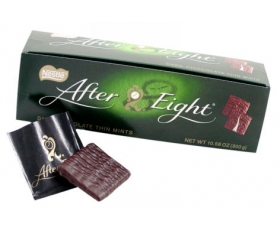 After Eight, Minty chocolates, with mint, munt, menthe - 300 gr netto.
