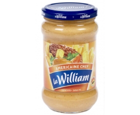 La William - Sauce Americaine, americain saus, sauce - 300 ml netto