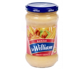 La William - Sauce Banzai, Banzai saus, sauce - 300 ml netto
