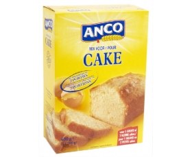 ANCO cake mix, cakemix - mix pour cake ANCO 400 gr net - 2 portions.