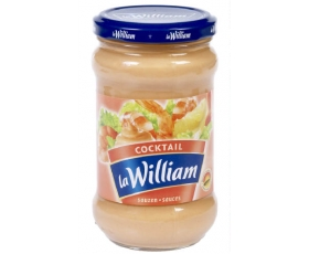 La William - Coktail, cocktailsaus, sauce - 300 ml net