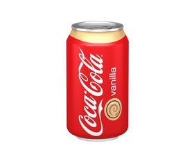 Coca-Cola Vanille in blik - Can 33 cl.