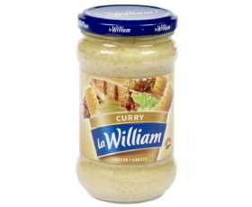 La William - Kerriesausl, currysaus, sauce curry- 300 ml netto