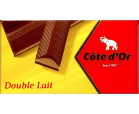 Double Lait, 200 gr, Cote D'or - Best Belgian chocolate bar ever...