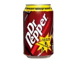 Dr. Pepper  in blik - Can 33 cl.