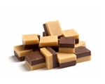 Lonka Duo Fudge, chocolate-vanille fudge - 300 g..