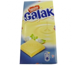Galak white chocolate tablet - 100 gr. from Nestlé.