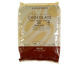 CALLEBAUT  callets Select 823 milk melk - 2,5 kg.