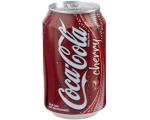 Coca-Cola Cherry in blik - Can 33 cl.
