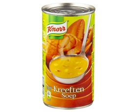 KNORR kreeftensoep, lobster soup, bisque d'homard - 515 ml.