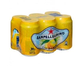 SAN PELLEGRINO  Lemon Limonata Citron - 6 x 33 Cl.