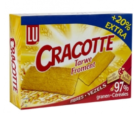 LU - CRACOTTE tarwe-froment 300 gr. netto, with salt.