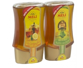 MELI - honing, honey CitrusMenthol - Top Down 250gr. netto