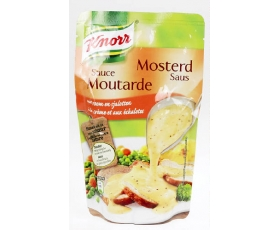 KNORR  Mosterdsaus, sauce moutarde, chaud, warm -  200 ml. net