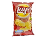 Lay's flat chips - Zout, sel, salt , naturel, na..