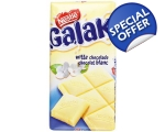 Galak white chocolate tablet - 300 gr. from Nest..