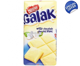 Galak white chocolate tablet - 300 gr. from Nestlé.