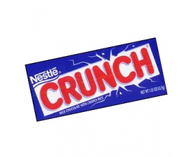 Nestlé CRUNCH tablet, milkchocolate with crisped rice