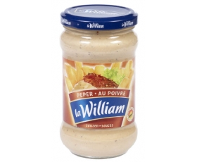 La William - Pepersaus, pepper sauce, sauce poivre- 300 ml netto
