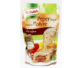 KNORR  Pepersaus, peppersauce, chaud, warm -  200 ml. net