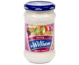 La William - Sauce Pitta, Pitta saus, sauce - 300 ml netto