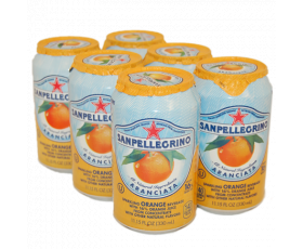 SAN PELLEGRINO  Lemon  Aranciata Orange Sinas - 6 x 33 Cl.