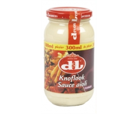 Devos Lemmens - Ail, garlic, look, knoflook sauce/saus, aioli - 300 ml. net