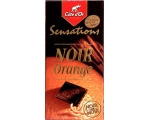 COTE D'OR, Sensations - Noir Orange/Brut 86 % 10..
