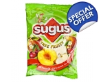 Sugus, 400 gr. net  Fruity-chewy candy - Tree fr..