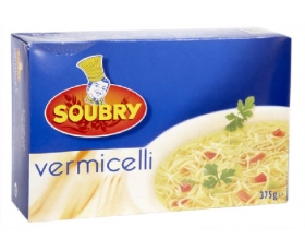 SOUBRY vermicelle - 375 gr.