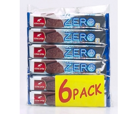Cote D'or - ZERO, 6-pack 6 x 50 gr , milk + filled chocolat