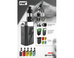 Kanger AKD Five 6 Kit - In Stock!