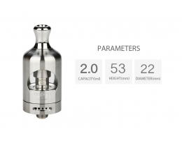 Aspire Nautilus 2 Tank - 2ml - Stainless Steel