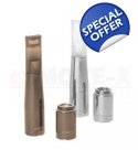 Biansi Imist atomizer Chrome & Gun Metal
